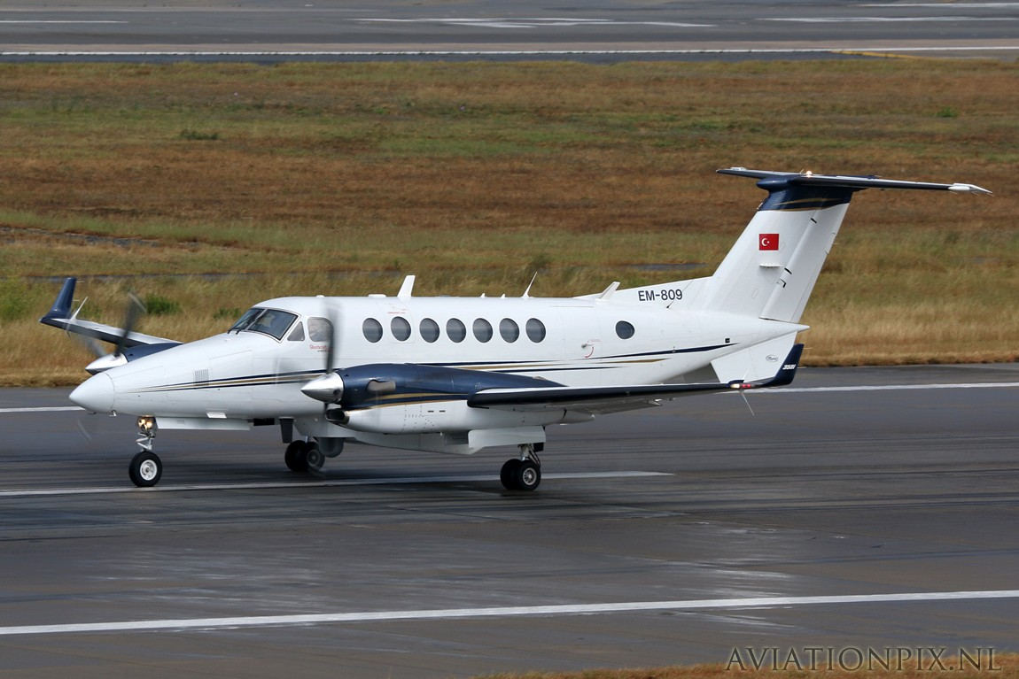 Civil-Others - Turkey national Police - Beech Super King Air 350 ...